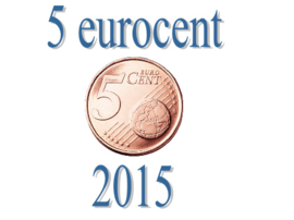 Luxemburg 5 eurocent 2015