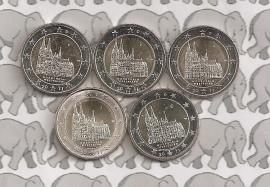 "Duitsland 2 euromunt CC 2011 ""Keulen"" (5 letters)"