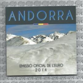 Andorra BU set 2014
