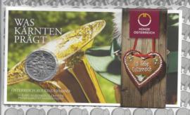 """Oostenrijk 10 euromunt 2016 (22e) """"Kärnten"""" (zilver in blister X)"""