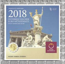 Oostenrijk BU set 2018
