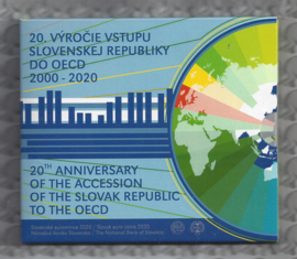 "Slowakije BU set 2020 ""20 Jaar lid van de OESO"""