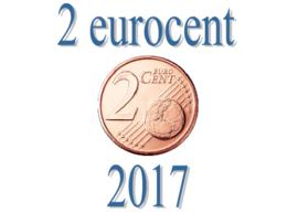 België 2 eurocent 2017