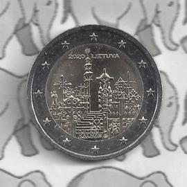 """Litouwen 2 euromunt CC 2020 (10e) """"Berg der Kruizen"""""""