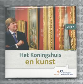 "Nederland BU set 2017 ""Het Koningshuis en kunst"""