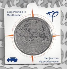 Nederland Gouden Eeuw penning 2019 (Holland Coinfair)