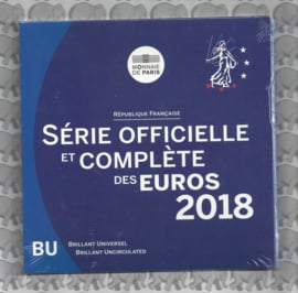 Frankrijk BU set 2018