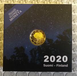 "Finland 2 euromunt CC 2020 (28e) ""100e Geboortejaar van Väinnö Linna"" (proof)"