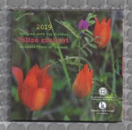 "Griekenland 5 euromunt 2019 ""Tulipa Goulimya"" (in blister)"