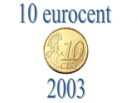 Portugal 10 eurocent 2003