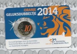 "Nederland 10 eurocent 2014 ""Geluksdubbeltje"""