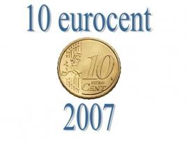 Frankrijk 10 eurocent 2007