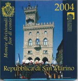 """San Marino BU set 2004 """""""""""