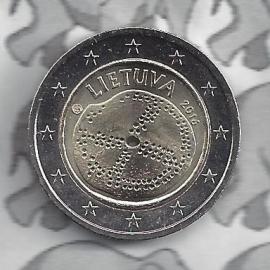 Litouwen 2 euromunt CC 2016 ''Baltische cultuur''