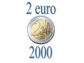 Frankrijk 200 eurocent 2000