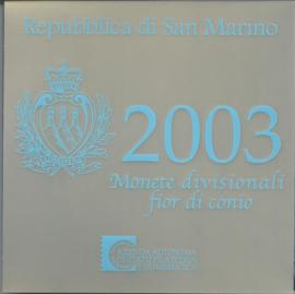 """San Marino BU set 2003 """""""""""