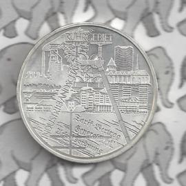 """Duitsland 10 euromunt 2003 (9e) """"Industrielandschap Ruhrgebied"""" (nikkel)."""