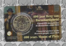 """België 2,5 euromunt 2018 """"400 jaar Berg van Barmhartigheid"""" in coincard Nederlandse versie"""