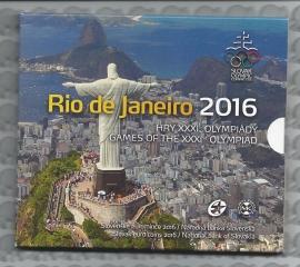 """Slowakije BU set 2016 """"Rio De Janeiro"""""""