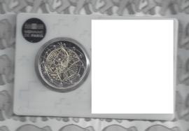 """Frankrijk 2 euromunt CC 2020 (24e) """"Medisch onderzoek"""", in coincard geen keuze"""