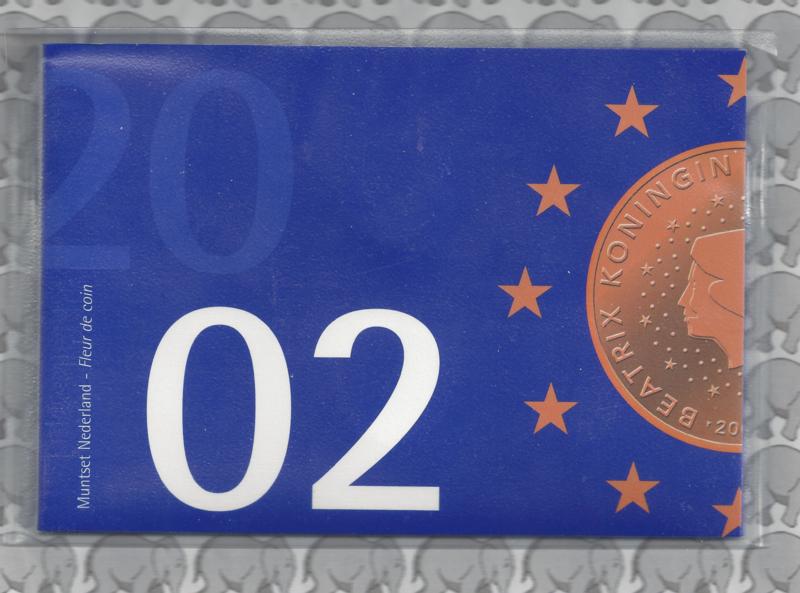 """Nederland BU set 2002 """"FDC"""""""