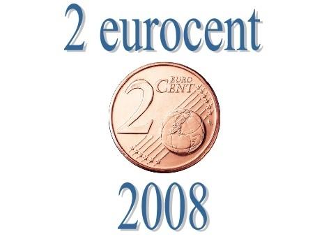 Frankrijk 2 eurocent 2008