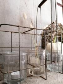 Oude confiture pot.