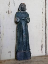 Bijzondere oud houten figuur.
