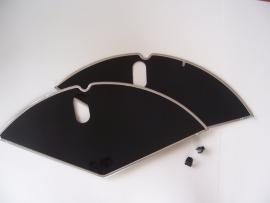Jasbeschermer 28 inch. (zwart)
