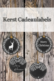 Kerst Cadeaulabels (PDF zelf printen)