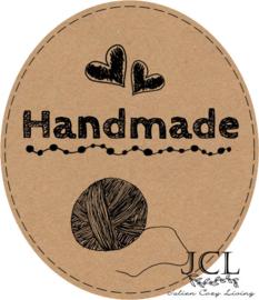 Handmade Label Ovaal Wol (PDF)