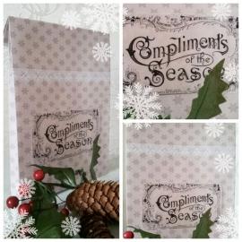Kerst Cadeauzakje Brocante Label (PDF zelf printen)