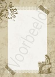 Briefpapier Brocante 'Writing' (PDF)