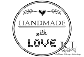 Handmade with Love label (PDF)