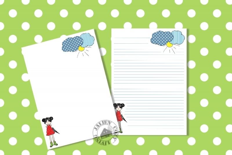 Briefpapier Na Regen..... (PDF)