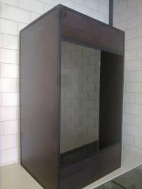 Betonplex terrarium 50x50x80