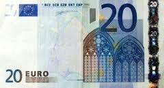 Aanbetaling 20,= euro