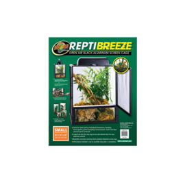 Zoomed reptibreeze alum screen cage  XS