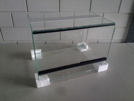 Glas terrarium 40x40x40 `Basic`