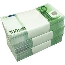 Aanbetaling 100,= euro