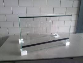 Glas terrarium 80x40x40 `Basic`