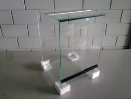 Glas terrarium 35x35x50 `Basic`