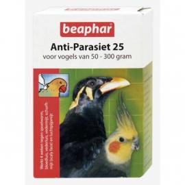 Beaphar anti-parasiet 25 (vogels 50-300 gram) 2 pipetten