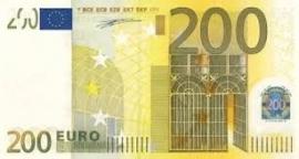 Aanbetaling 200,= euro
