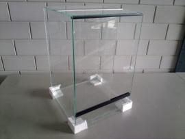 Glas terrarium 40x40x60 `Basic`