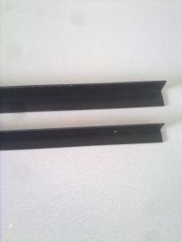 Hoekprofiel 15x15 zwart per meter