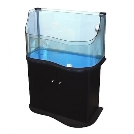 "Cabinet for Turtle-Tarrium small ""Black"""