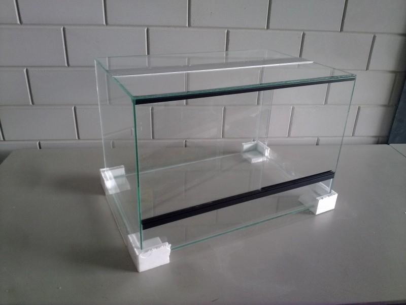 Glas terrarium 60x40x40 `Basic`