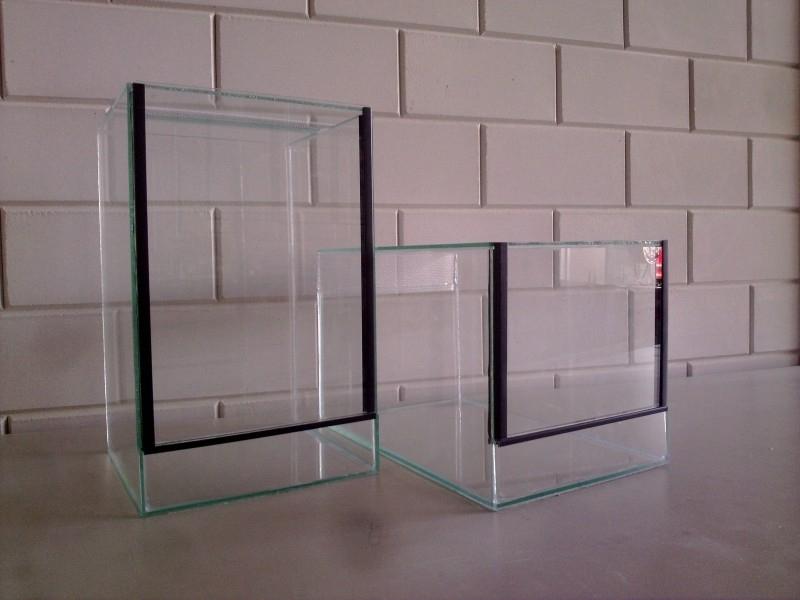 Glas terrarium 40x25x25 `Basic`
