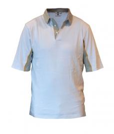 Be-Wear poloshirt wit/grijs